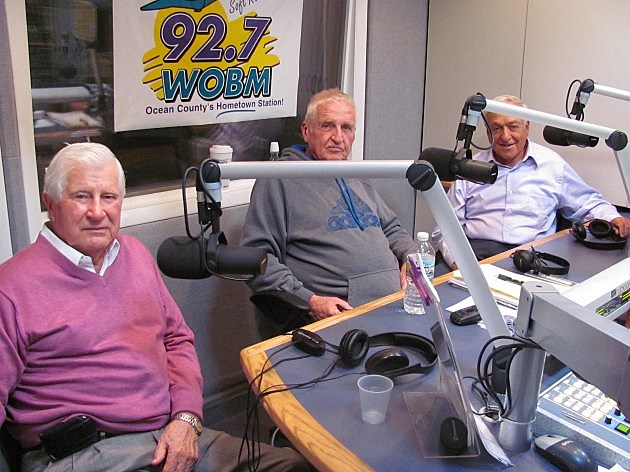 Former Ocean County Republican Chairman Joe Buckelew (L) and former State Senator John Russo (R) with Bob Levy