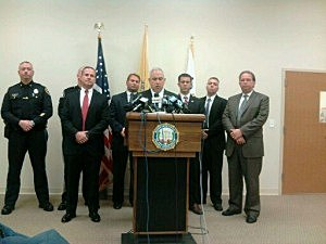Monmouth County Prosecutors press conference