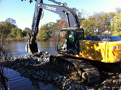 Wreck Pond project in Spring Lake