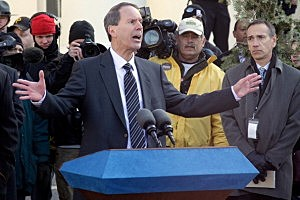 Joe Amendola, attorney for former Penn State assistant football coach Jerry Sandusky