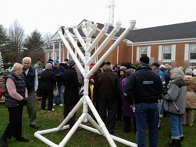 Ocean County Menorah