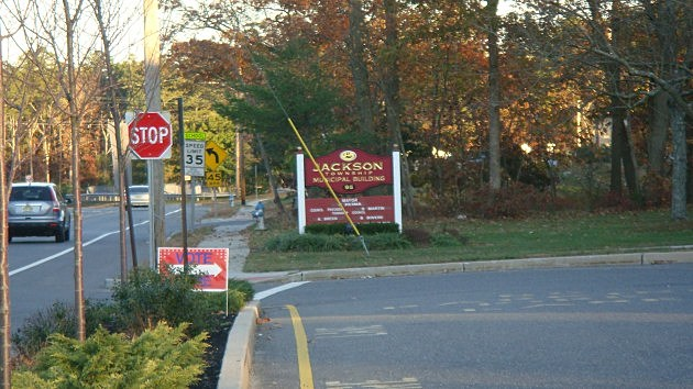 Jackson Township building entrance
