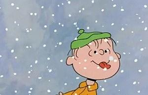 Charlie Brown Christmas snowflakes