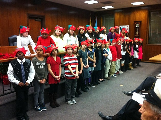 Walnut Street School Wildcat chorus