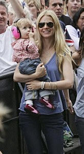 Gwyneth Paltrow and daughter Apple