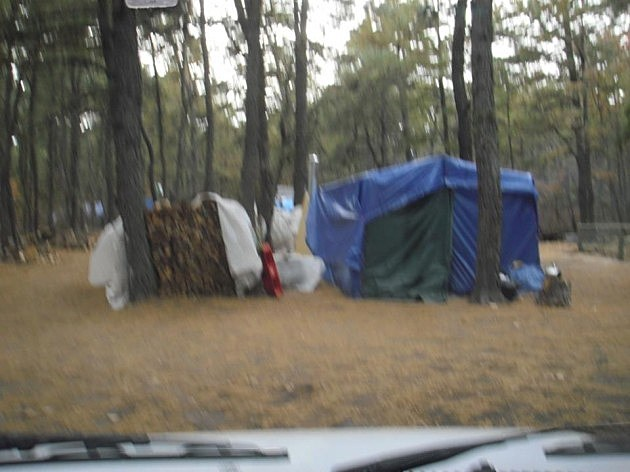 Tent City, by Jane Skolsky, Facebook