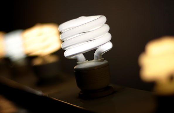 compact flourescent light bulbs