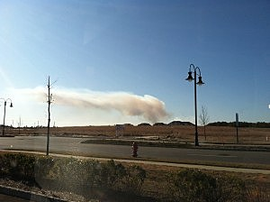 Controlled Burn Near Manahawkin