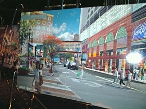 Rendering of proposed Pacific Avenue improvement project