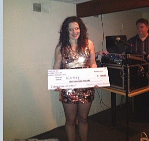 Crabs Claw Inn Karaoke winner Kathy Doyle