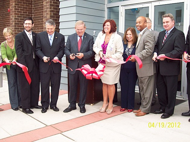 Ribbon cutting at Ocean County Health Initiatives