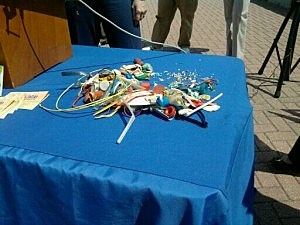 Small Amount of Debris Found By Clean Ocean Action During 2011 Beach Sweeps