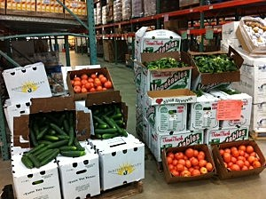 Foodbank Monmouth & Ocean, Government Donated Produce