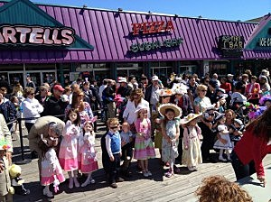 Easter Parade at Jenkinsons