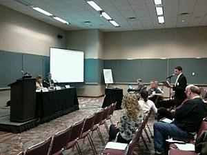 Public Forum for Seismic Testing