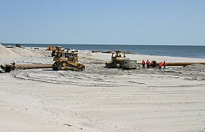Harvey Cedars beach replenishment