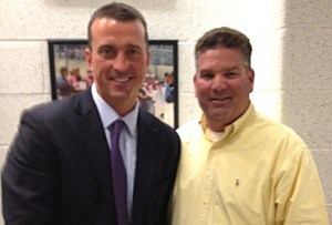 Chris Herren (L) and Kevin Williams