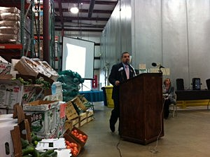 Executive Director Carlos Rodriguez, FoodBank of Monmouth & Ocean Counties
