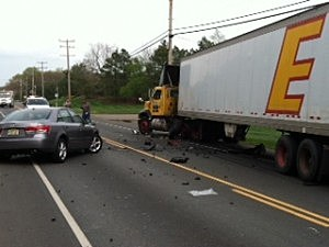 Accident on Route 70 in Manchester