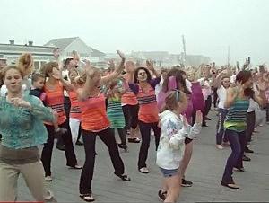 Belmar flashmob