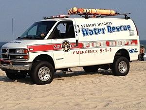 Seaside Heights water rescue van