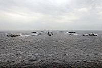 Eisenhower Carrier Strike Group in Formation (US Navy)