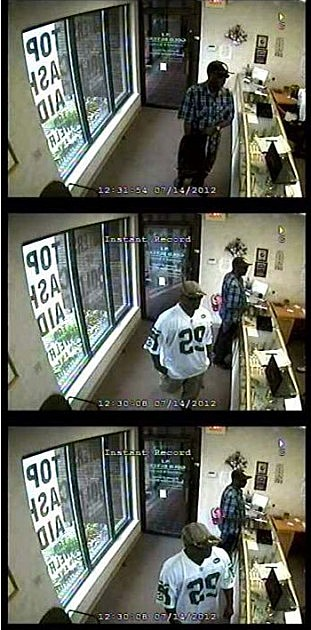 Ocean gold store robbery