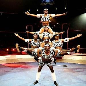 Zu Zu African Acrobats