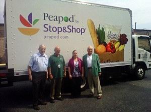 Stop & Shop's Peapod program makes a donation