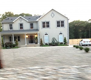 Manchester home where Snooki & J-Woww are filming their MTV show.