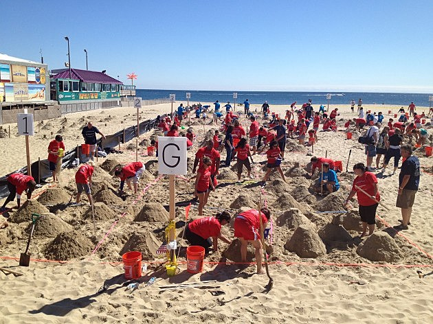 Big Brothers Big Sisters of Ocean County Sandcastle Building Challenge (Kevin Williams)