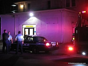 Police at scene of  burglary at Mesoras Avos boys school in Lakewood