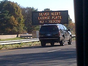 A Silver Alert has been issued for a green Ford Explorer with NJ license plate X63DCU.