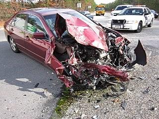 Manchester High School Bus Crash