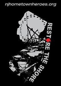 "Hometown Heroes ""Restore The Shore"" T shirt"