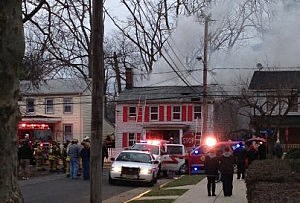 Fire at home on  McLean Street in Freehold Borough