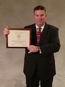 Kevin Williams and NJSIAA's Sports Reporter Award