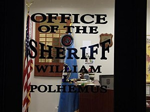 Door to Ocean County Sheriff's Department