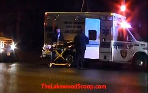 Lakewood first responderrs tend to a Tent City stabbing victim