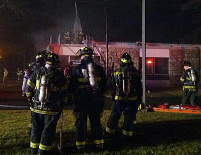 Atlantic Physical Therapy fire