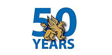 Logo of Monsignor Donovan's 50th anniversary celebration