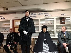 """President and Mrs. Lincoln"" in Toms River (Townsquare Media"