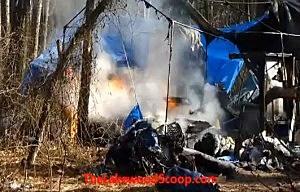 Thursday's fire at Tent City