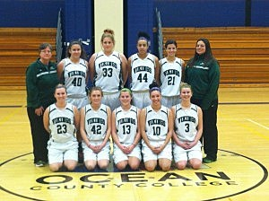 Ocean County College women's basketball team