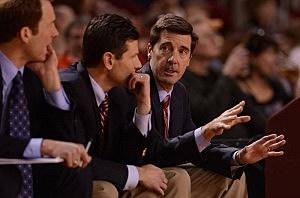 University Of Denver mens basketball coach Joe Scott
