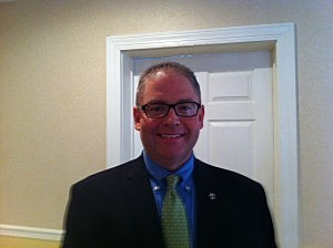 Jeff Anding, Director of External Affairs, with the New Orleans Convention & Visitors Bureau