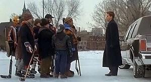 Emilio Estevez as Coach Gordon Bombay in The Mighty Ducks
