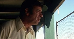 Walter Matthau as coach Butterworth in The Bad News Bears