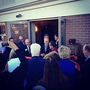 Ribbon cutting of Townsquare Media's new Toms River headquarters
