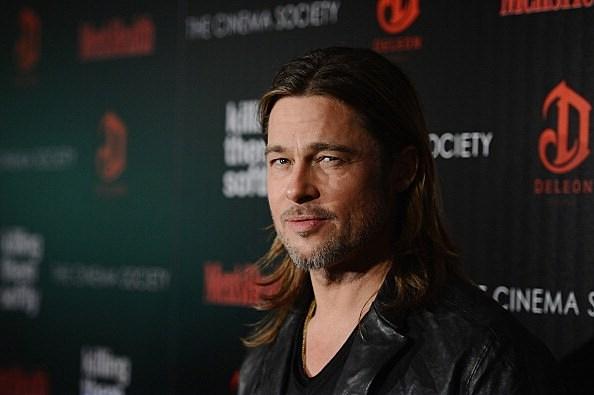 Brad Pitt Stubble